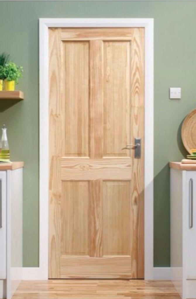 Wickes Skipton Internal Softwood Door