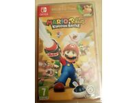 New Mario+Rabbids Kingdom Battle - GOLD EDITION - Nintendo Switch