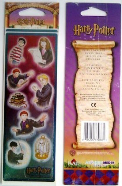 NEW HARRY POTTER SORCERER'S STONE YEAR 1 STICKERS 3 SHEETS PER PACK