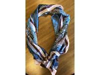 Louis Vuitton shawl scarf wrap rare pattern