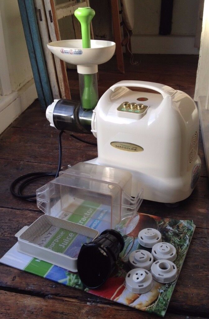Matstone 6 in 1 Juicer in Ivory (used but VGC)