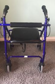 Mobility Aid Seated Walker