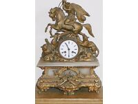 french clock for restoration