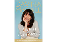 Lessons I've Learned - Davina McCall