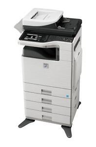 Sharp Black and White MX-B402SC Printer Copier Copy Machine Photocopier Sharp office B&W copiers Printer