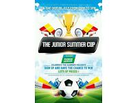 SIGN UP FOR THE JUNIOR 5-A-SIDE SUMMER CUP!@