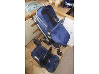 Safe Travel System Pushchair and matching car seat and Britax 0-18kg car seat