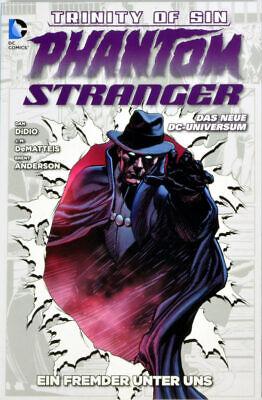 DC Trinity of Sin - Phantom Stranger Bd 1 signiert, deutsch, Panini 2014, Z 0-1