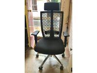 Black Operator Office Chair