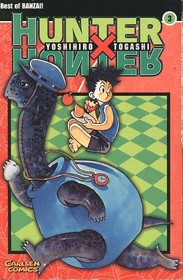 "Carlsen Comics - Best of BANZAI! ""HUNTER X HUNTER"" 3"