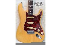 1994 FENDER Japan Stratocaster Natural Tung Oil electric guitar - MIJ CIJ - CAN POST!