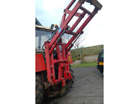 Rear Loader Mast for Tractor - strong loader with dual rams