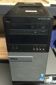 Dell Optiplex 990 Mini Tower PC Intel i5-2400 upto 3.4GHz CPU 4GB RAM 250GB SATA HDD DVDRW Windows 7