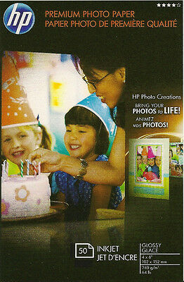 Hp Premium 4 X 6 Glossy Photo Paper1,000countborderlessne...