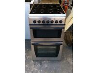 6 MONTHS WARRANTY Indesit 50cm, stainless steel electric cooker FREE DELIVERY