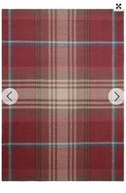 NEXT - Stirling Check Rug - 140x200cm - NEW - Rrp £75
