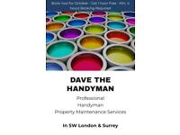 Dave The Handyman | In SW London & Surrey | Get 1 hour Free*