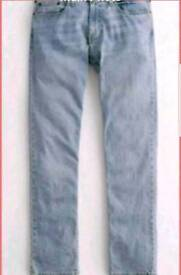 Hollister slim straight epic flex jeans size 38/34. Brand new