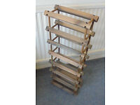 Wooden Wine Rack for up to 14 Bottles