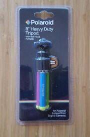 """Polaroid 8"""" Heavy duty tripod"""