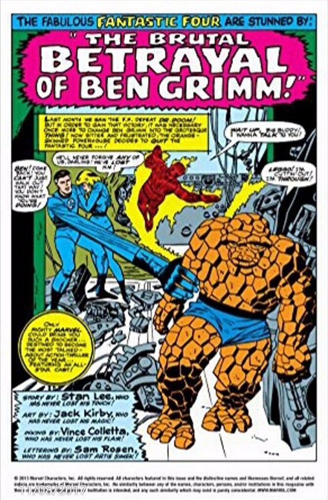 Fantastic Four Marvel Masterworks Vol 5