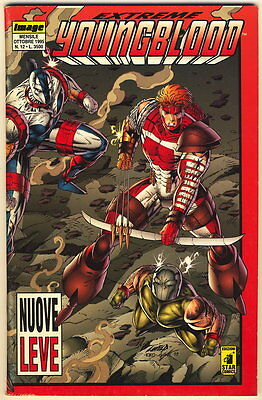 EXTREME YOUNGBLOOD 12 IMAGE STAR COMICS 1995 NUOVE LEVE
