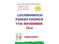 November Craft Fayre