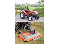 Kioti CK35HST 35Hp Compact Tractor & Finishing Mower Package