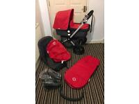 Bugaboo Cameleon 2 In Red & Charcoal plus extras!!!