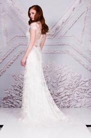 Suzanne Neville Cavallino wedding dress, size 12