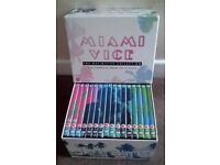 MIAMI VICE COMPLETE SERIES 32 DISCS THE DEFINITIVE COLLECTION DVD BOXSET
