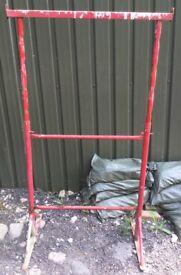 Builders etc metal 4 board trestles 13 available