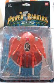 Original Ban Dai Power Ranger Quadrafighter.
