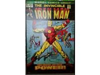 Retro Iron Man Picture