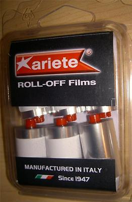 Ariete goggle spare parts 12962-KRU standard size roll-off film canisters, 6 pak