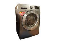 LG RC8055EH2M Heat Pump Tumble Dryer Steel 8kg Capacity A++ Energy Efficiency