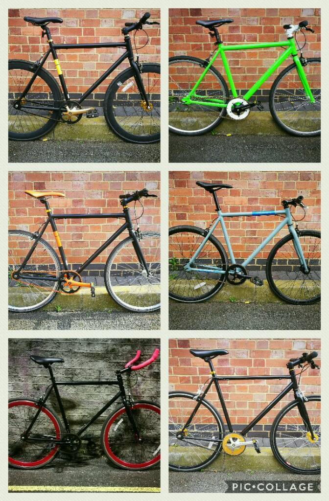 Police Checked/Serviced Single Speed Bikes with Receipts