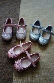 Three pairs of beautiful Next Party Pumps
