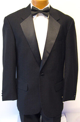 44S Black Butler Dracula Bond Tuxedo Jacket Halloween Costume Formal Tux Cheap