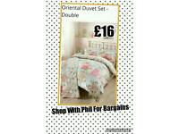 Oriental Double Duvet set