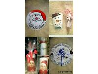 Christmas personalised items