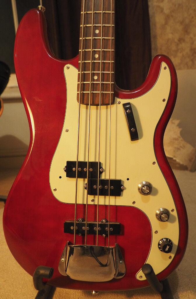 UNUSED Harley Denton PJ-4 HTR Deluxe Series precision jazz bass guitar