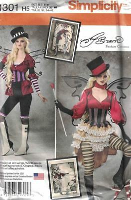 Steampunk Circus Waist Cincher Cosplay Fantasy Simplicity 1305 Sizes 6-14 Uncut