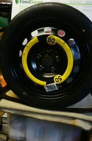 Audi A3 Space Saver Wheel