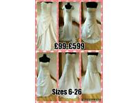 Wedding and bridesmaid dress sale