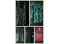 Size 18 women's clothes, mainly dresses