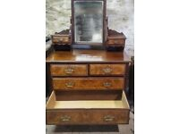 Large Mirrored Chest of Draw