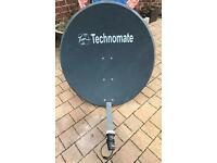 Technomate motorised satellite dish excellent condition