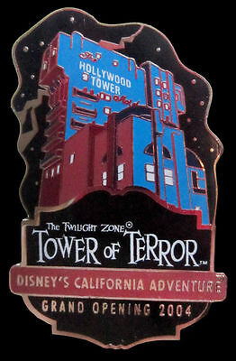 Disney Pin California Twilight Zone Tower of Terror Grand Opening Extremely Rare