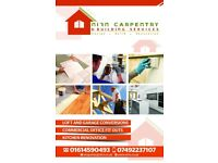 Carpenter/Joiner, Kitchen fitter, Sash Window fitter,Painter and Decorating,Tailing